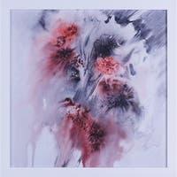 22X22 Rasberry Splash I, Framed paper wall art