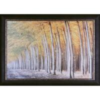 29.5X41.5 Gold Alley, Framed paper wall art
