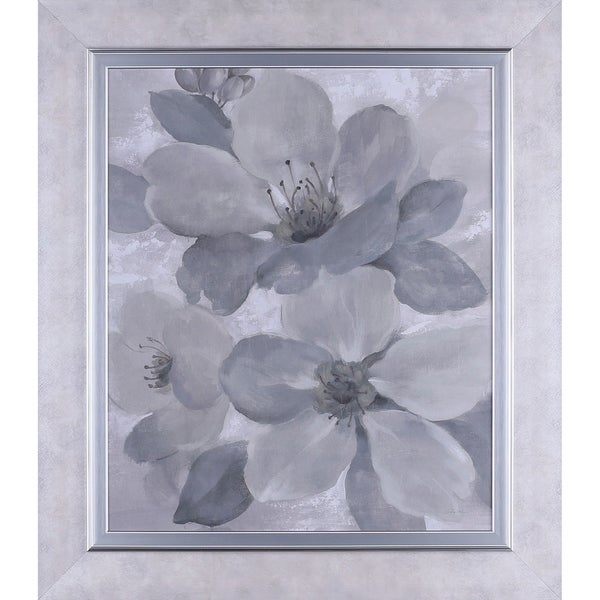 3275x2875 Neutral Floral Ii Framed Paper Wall Art Free Shipping