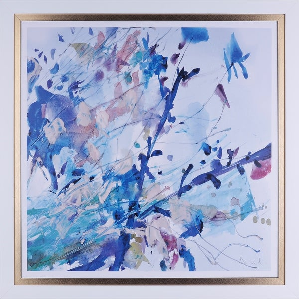 Shop 34X34 Spring in the air, Framed abstract wall art - Free ...