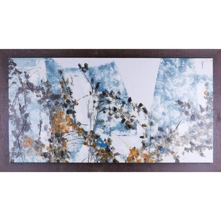 36X66 Vines, Framed acrylic canvas wall art