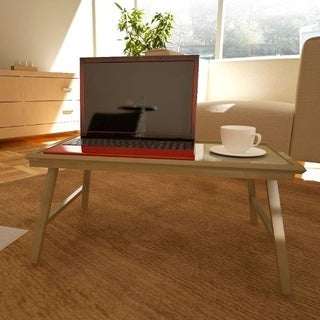 Furinno FNCL-33010 Bamboo Lapdesk Bed Tray, Natural