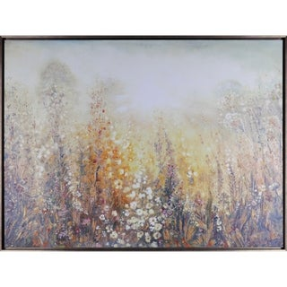 36.75X48.75 Field of Dreams II, Framed acrylic canvas wall art