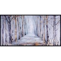 31.25X61.25 Glow, Framed canvas acrylic wall art