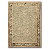 Fine Ornate Needlepoint Tapestry Area Rug