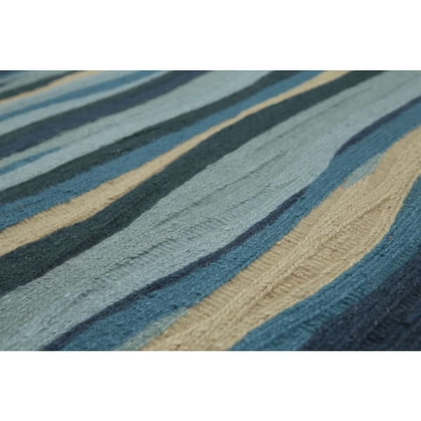 Multicolor Hand Knotted Wool