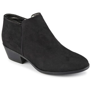XAPPEAL Womens Stewart Low Heel Ankle Cut Booties