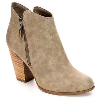 Michael By Michael Shannon Womens Jenny Ankle Booties|https://ak1.ostkcdn.com/images/products/18702179/P24791904.jpg?impolicy=medium