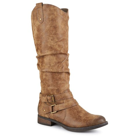 Limelight Womens Madison Equestrian Slouch Boots