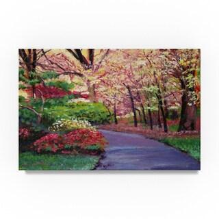 David Lloyd Glover 'A Spring Blossom Impressions' Canvas Art