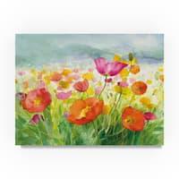 Danhui Nai 'Meadow Poppies' Canvas Art