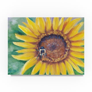 Marnie Bourque 'Busy Bee' Canvas Art