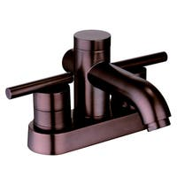 Two Handle Lavatory Faucet with Pop up Drain