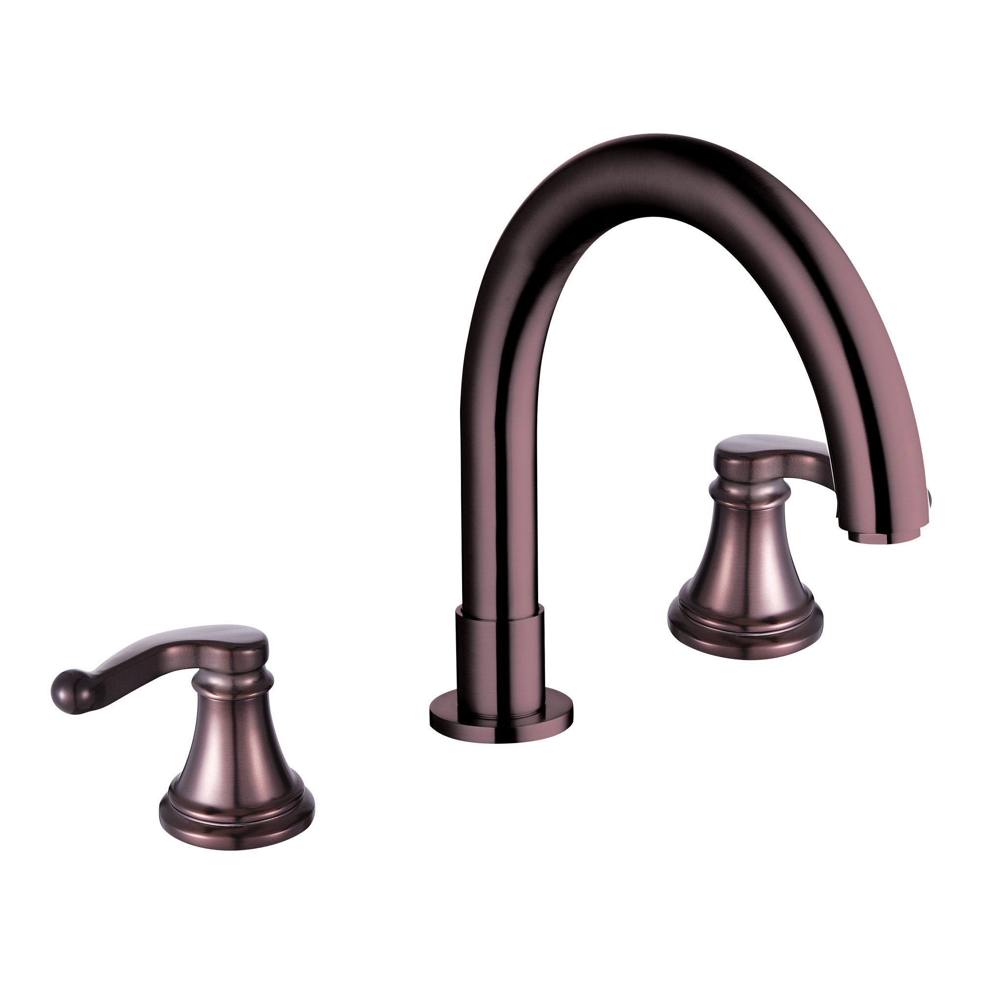 Yosemite Two Handle Widespread Tub Faucet, Bronze