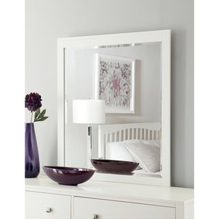 Hillsdale Pulse Mirror, White