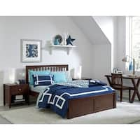 Hillsdale Pulse King Mission Bed, Chocolate