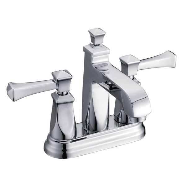 Lavatory Faucet with Pop-up Drain Polished Chrome