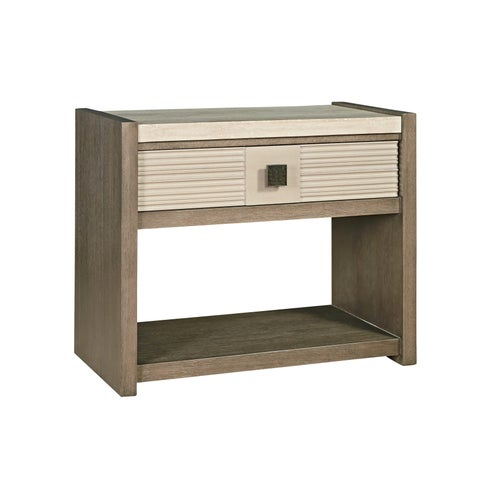 Synchronicity Horizon and Morning Light 1-drawer Nightstand