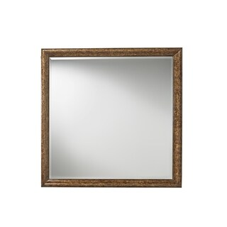 Postscript Tortoise Shell Accent Square Tortuga Mirror