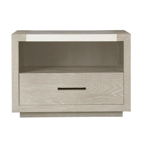 Modern Wilshire Quartz 1-drawer Nightstand
