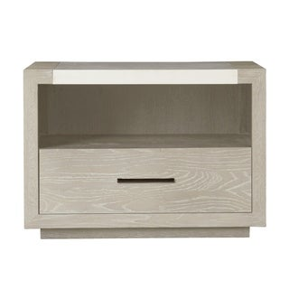 Modern Wilshire Quartz 1-drawer Nightstand