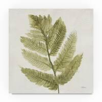 Albena Hristova 'Forest Ferns I' Canvas Art