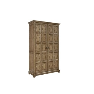 Postscript British Tan 2-door Cameo Wardrobe