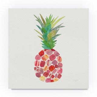 Courtney Prahl 'Tropical Fun Pineapple I' Canvas Art