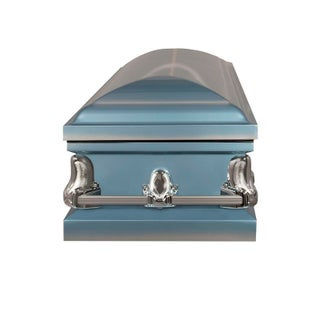 Titan Casket - Orion Light Blue 20 Gauge Steel Casket
