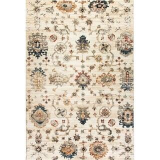 Dynamic Textiles Lea Ivory Area Rug (5'3 x 7'7)