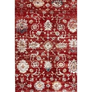 Dynamic Textiles Lea Rust Indoor Area Rug (5' 3 x 7' 7)