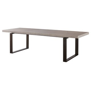 Modern Quartz Rectangular Robards Dining Table - Bronze