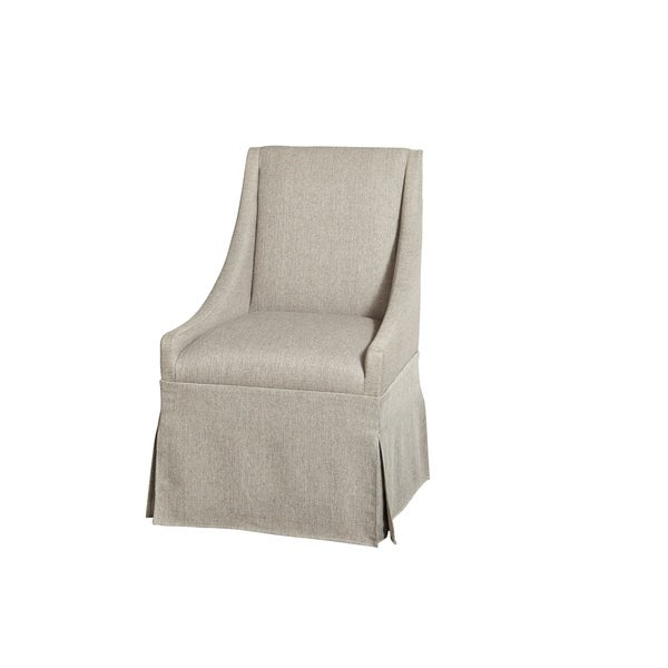 Shop Modern Grey Townsend Caster Dining Chair Free