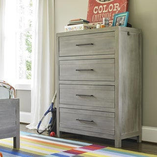 Scrimmage Greystone Wood 4-drawer Chest