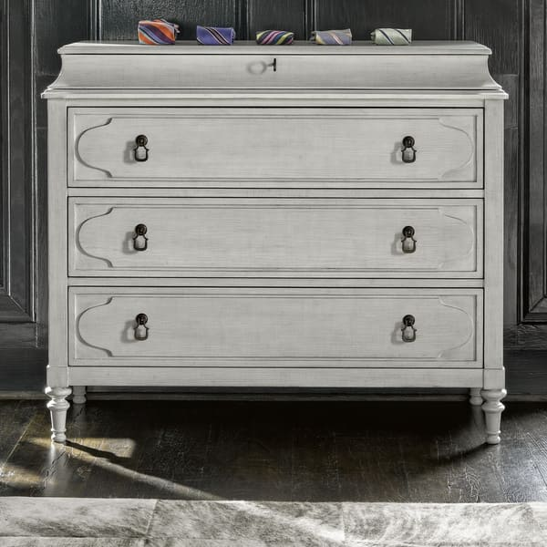 Linen 4 Drawer Cancale Hall Chest