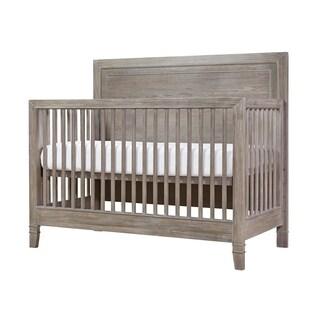 Scrimmage Greystone Wood Convertible Crib
