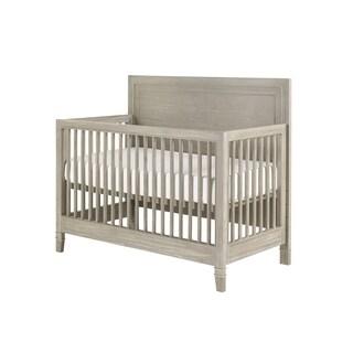 Axis Symmetry Wood Convertible Crib