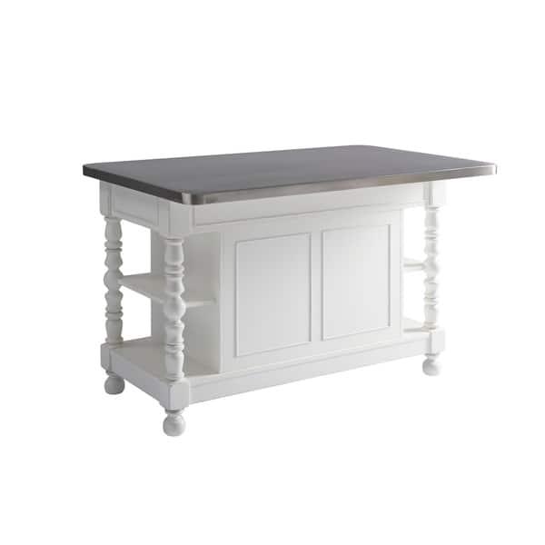 Simple Office Room Design, Shop Black Friday Deals On Paula Deen Cottage Ivory 4 Drawer Kitchen Island Overstock 18704922