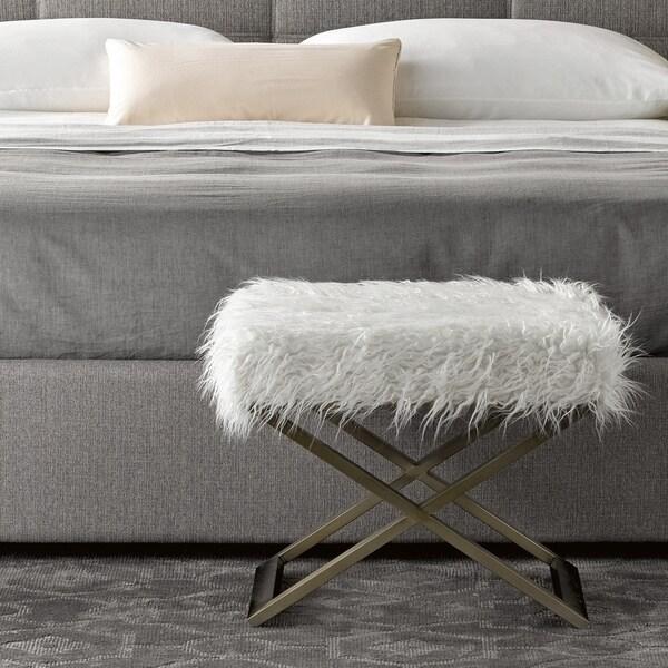 Prime Shop Carbon Loft Guerrero Brushed Brass Bed End Bench Beatyapartments Chair Design Images Beatyapartmentscom