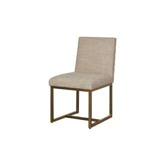 Modern Tan Cooper Side Chair