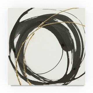 Chris Paschke 'Gilded Enso IV' Canvas Art (4 options available)
