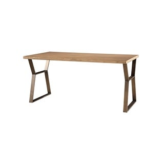 Curated Mango Pango 64-inch Rectangular Ainsley Dining Table - Bronze