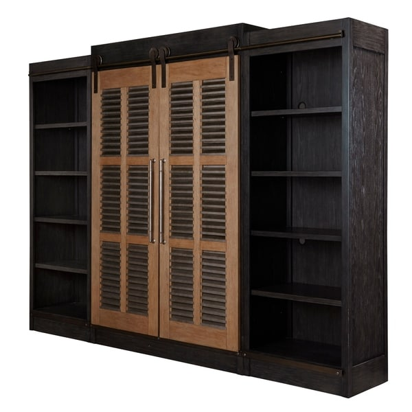 Amazing Curated Cobalt Black Darcy Entertainment Cabinet