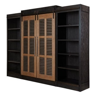 Curated Cobalt Black Darcy Entertainment Cabinet