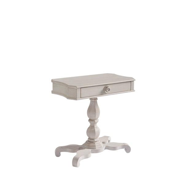 Paula Deen Bungalow Bluff Pedestal Bedside Table