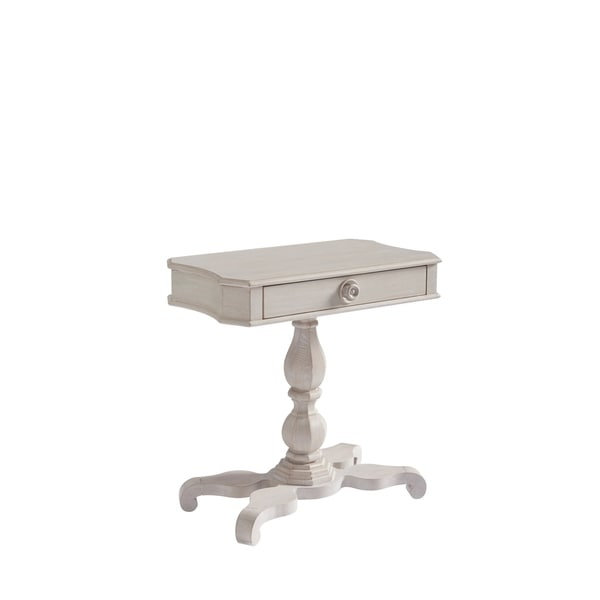 Universal Furniture Paula Deen Bungalow Bluff Wood/Veneer Pedestal Bedside Table