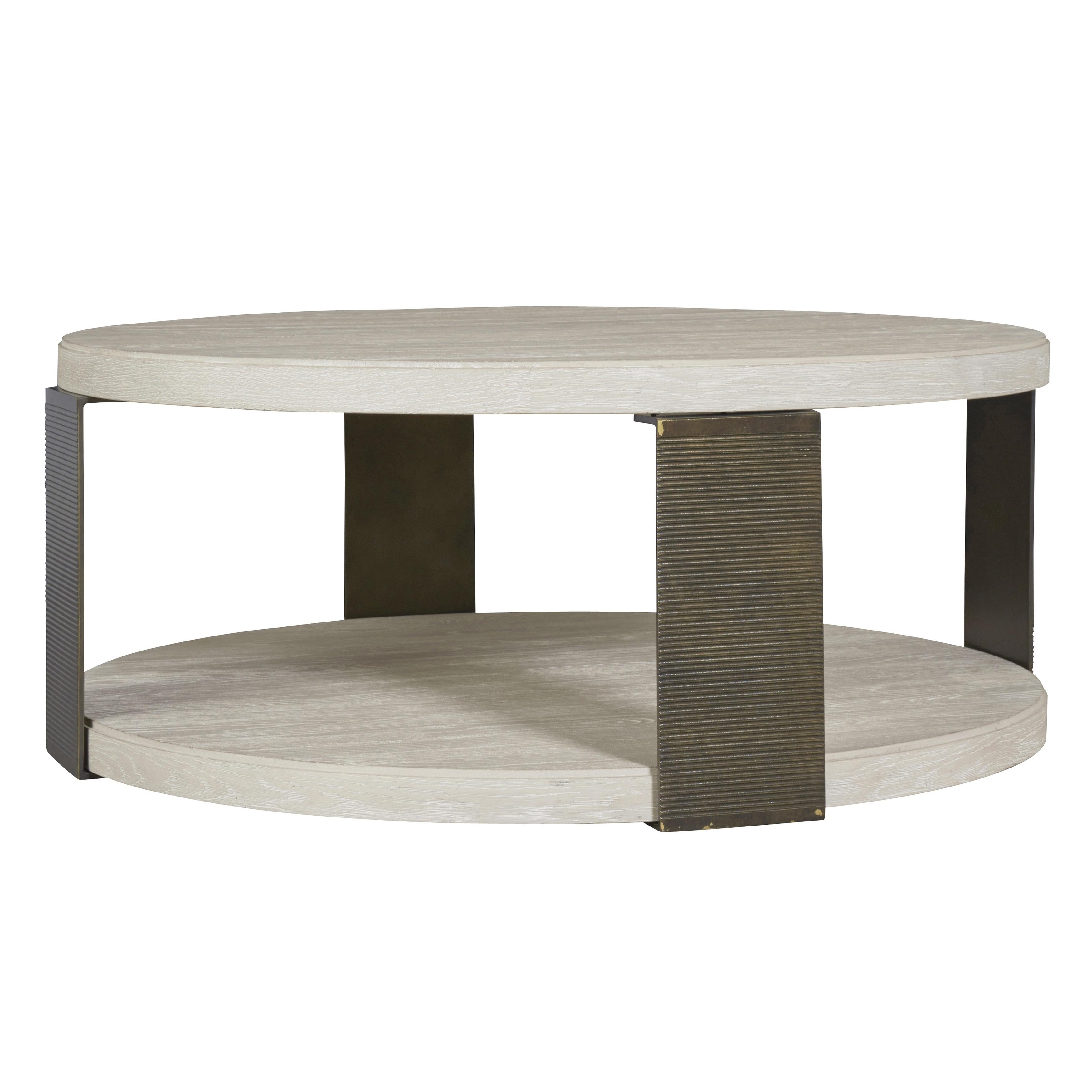 Shop Black Friday Deals On Carbon Loft Gene Modern Bronze And Quartz Round Cocktail Table Overstock 18705047