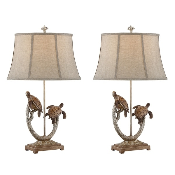 Seahaven twin turtle branch table lamp 31 high set of 2 free seahaven twin turtle branch table lamp 31 high set mozeypictures Gallery