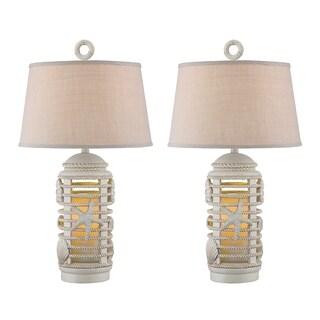 "Seahaven Ocean Lantern Night Light Table Lamp 31"" high"
