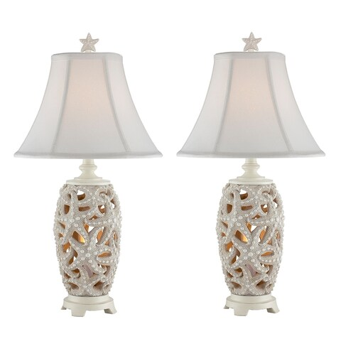 "Seahaven Accent Starfish Night Light Table Lamp 24.5"" high"